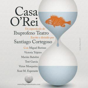 Cartel de Casa O'Rei de Ibuprofeno Teatro