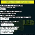 Cartel de Lugo en Danza (LED) 2020