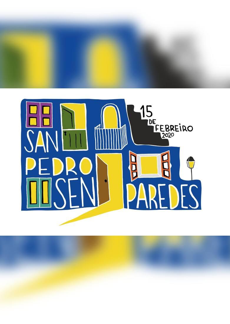 Cartel Festival San Pedro Sen Paredes