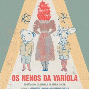 Cartel de Os Nenos da Variola