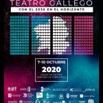 Cartel do I Congreso Internacional de Teatro Galego