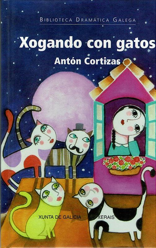 """""""Xogando con gatos"""" de Antón Cortizas (Ilustracións de Leandro Lamas)"""