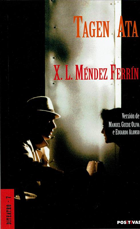 Portada da obra Tagen Ata de X.L. Méndez Ferrín (versión de Manuel Guede Oliva e Eduardo Alonso)