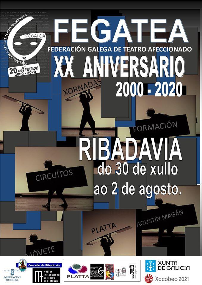 Cartel XX Aniversario FEGATEA