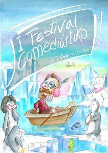 Cartel I Festival Comediártiko