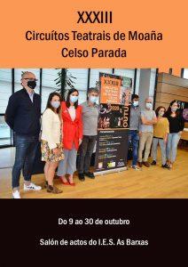 XXXIII Circuítos Teatrais de Moaña Celso Parada