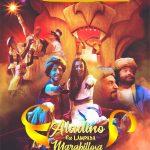 Cartel de Aladino e a lámpada marabillosa de Teatro Avento na Sala Artika