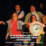 Cartel Pinconús - Pisconús teatro en Mondoñedo