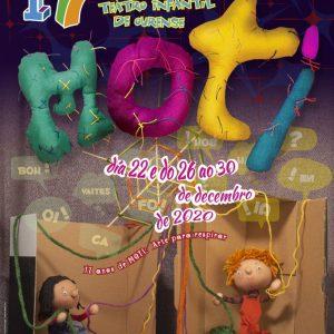 Cartel 17 Mostra de Teatro Infantil de Ourense (MOTI 2020)