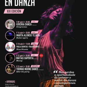 Cartel do 29 Festival Primavera en Danza de Carballo