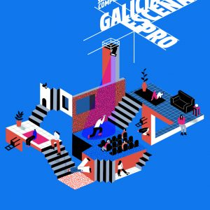Cartel Galicia Escena Pro 2021