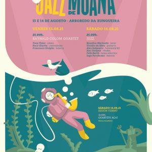 Cartel V Festival de Jazz de Moaña