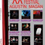 Cartel XX Festival de Teatro Afeccionado Agustín Magán