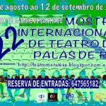 Cartel 22 Mostra Internacional Teatro Palas de Rei