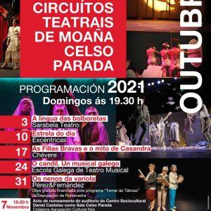 XXXIV Circuítos Teatrais de Moaña Celso Parada